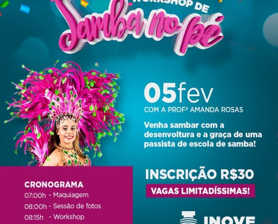 WORKSHOP DE SAMBA NO PÉ